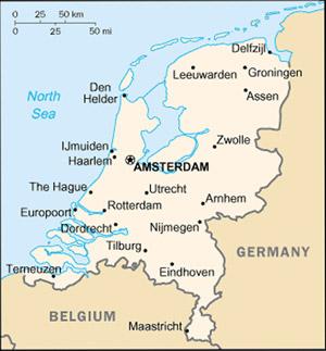 Netherlands Map