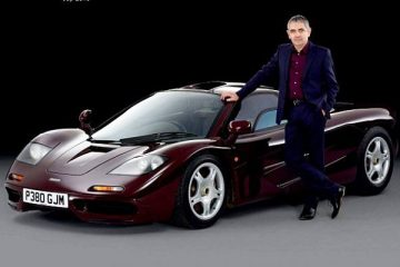 Mr. Bean Buys First Car MacLaren