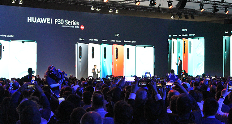 Huawei Global P30 Launch Paris