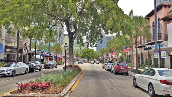 Downtown Shopping in Fort Lauderdale