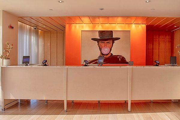 Mondrian Hotel Lobby