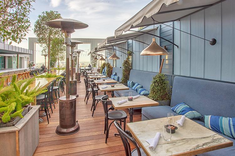 Mondrian Hotel Restaurant