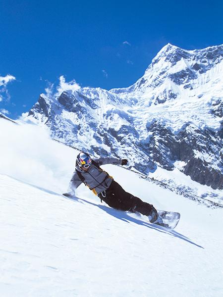 Castle Mountain Snowboarding