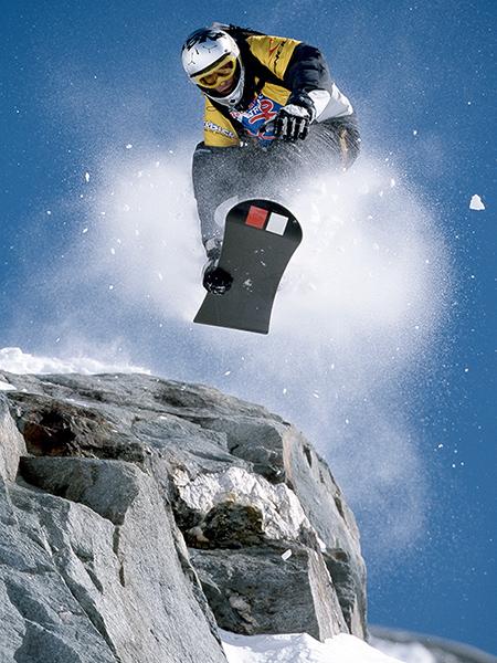 Le Massif Snowboarding