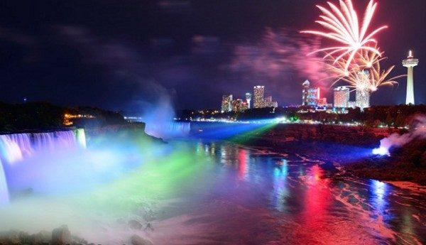 New Year's Eve Travel Niagara Falls