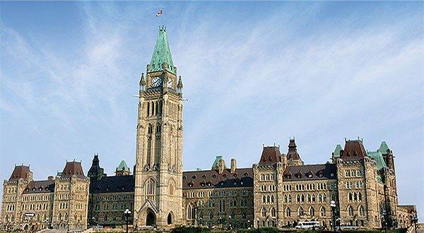 Ottawa Parliament Buildings Hill