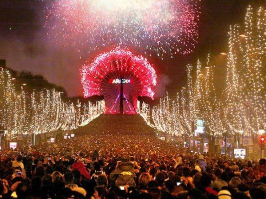 New Year's Eve Travel Paris