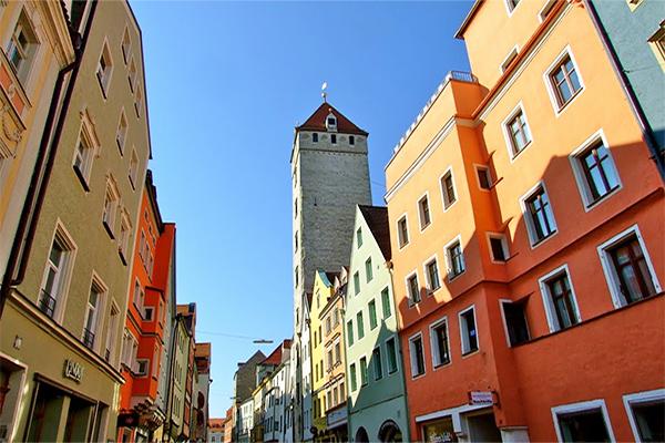 Architecture in Regensburg Bavaria