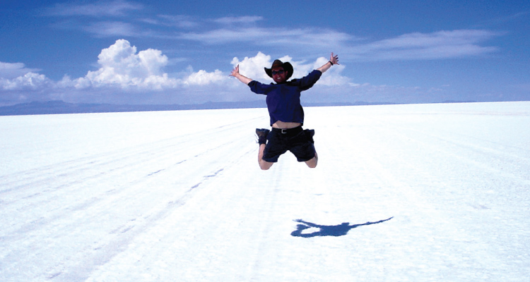 Travel Writer Robin Esrock in Bolivia
