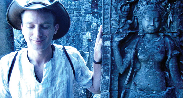 Travel Writer Robin Esrock in Cambodia