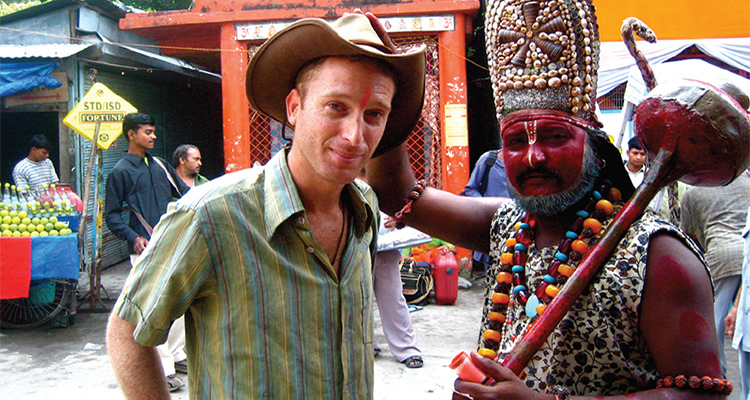 Travel Writer Robin Esrock in India