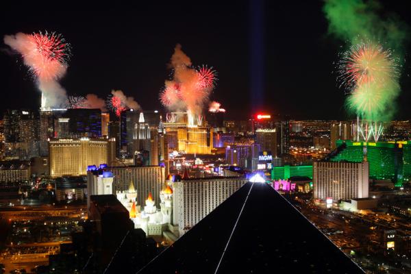 New Year's Eve Travel Las Vegas