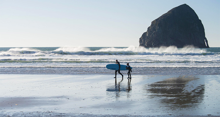 USA Surfing Destinations: Gas Chambers, Oregon